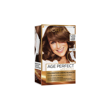 Coloration crème nuancée Age Perfect EXCELLENCE, châtain clair doré lumineux n°5.03