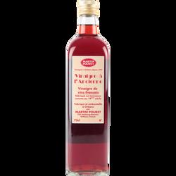 Vinaigre d'Orléans de vin rouge à l'ancienne POURET 0,750L