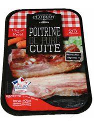 Poitrine de porc fumée, GIFFAUD, Origine France, 1 pièce, Barquette,