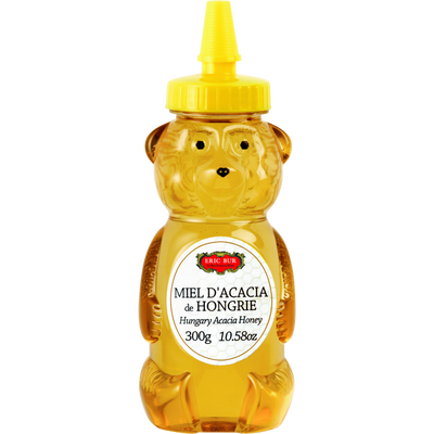 Miel d'acacia ourson  ERIC BUR, 330g