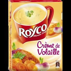Crème de volaille ROYCO, étui de 4 sachets, 80cl
