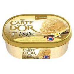 Crème glacée à la vanille de Madagascar, CARTE D'OR, 1l