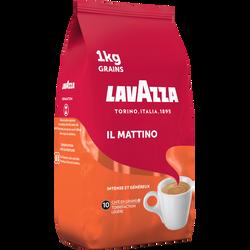 Café grain II Mattino LAVAZZA, paquet de 1kg