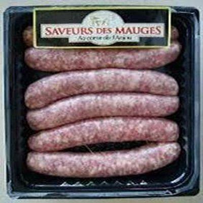 Saucisses aux choux et lardons x6 330g