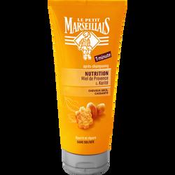 Après-shampoing pour cheveux très secs et frisés nutrition intense parfum karité & miel sans sulfate LE PETIT MARSEILLAIS, 200ml