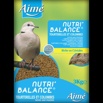 Nutri'balance tourterelles, AIME, 3kg