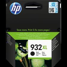 Cartouche d'encre HP pour imprimante, 932XL noir, sous blister