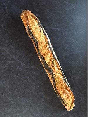 Baguette tradition pavot, 1 pièce, 250g