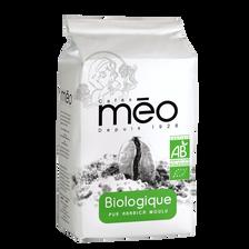 Café moulu biologique MEO, paquet de 500g