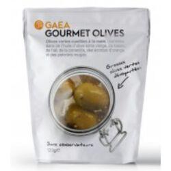 Gourmet - Olives vertes dénoyautées 120g