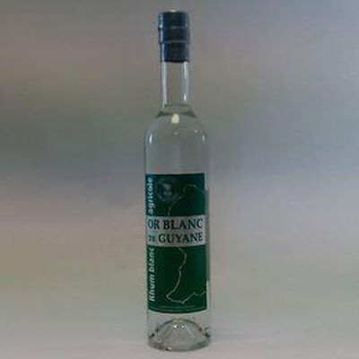 RHUM BLANC OR BLANC DE GUYANE 50CL