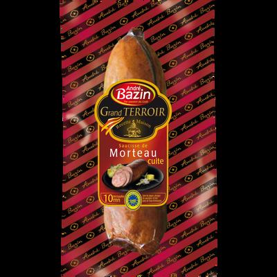 Saucisse de Morteau cuite IGP BAZIN, 300g