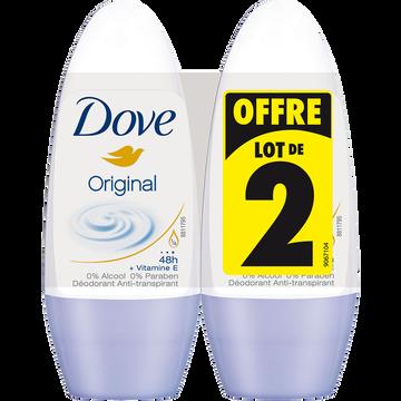 Dove Déodorant Original Dove, 2x50ml