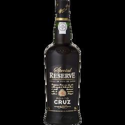 Porto spécial réserve CRUZ, 19°, bouteille de 75cl