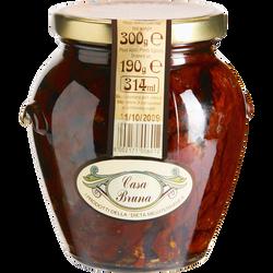 Tomates sechées à l'Huile d'Olive & herbes CASA BRUNA, 280g