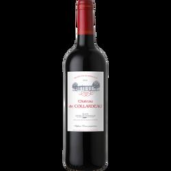 Blaye Côtes de Bordeaux AOP rouge Château De Collardeau 2018, 75cl