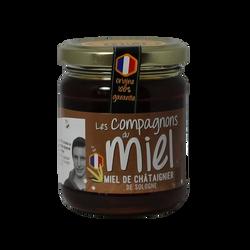 Miel de chataignier de Sologne COMPAGNONS DU MIEL, 250g