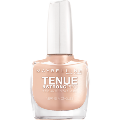 Vernis à ongles tenue & strong ivoire rose 75 MAYBELLINE, nu