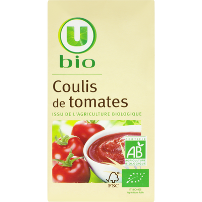 Coulis tomate U BIO, bocla de 500ml