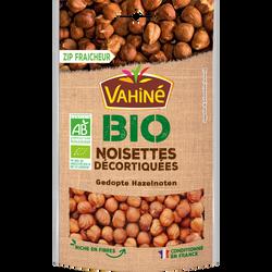 Noisettes décortiquées Bio VAHINE, paquet de 100g
