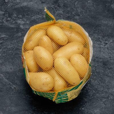 Pomme de terre Charlotte, de consommation à chair ferme, calibre 35/55mm, catégorie 1, France, filet 2,5kg