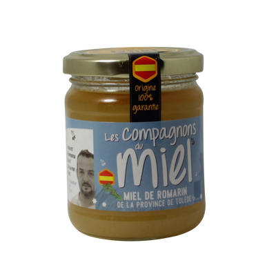 Miel romarin de la province de Tolède COMPAGNONS MIEL, 250g