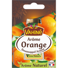Arôme orange VAHINE, flacon de 20ml