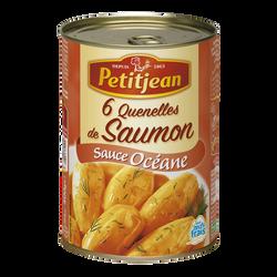 Quenelle de saumon sauce crevette PETIT JEAN, boîte de 400g