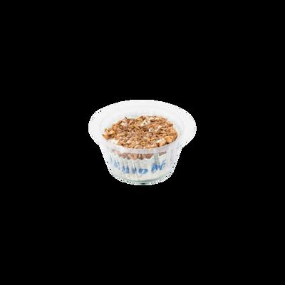 Fromage frais au lait pasteurisé 25% de MG enrobé noix LE CHEVREUILLE,80g