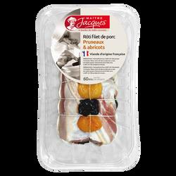 Filet de porc aux pruneaux et abricots, MAITRE JACQUES, 1 pièce