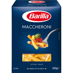 Macaroni qualité supérieure BARILLA étui 500g