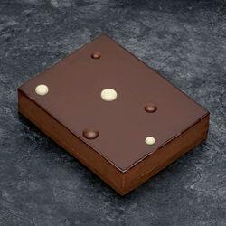 Croustillant chocolat décongelé, 4 pièces, 500g