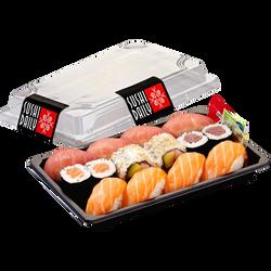 Menu three SUSHI DAILY (4 sushi saumon, 4 sushi thon, 2 maki saumon), 321g