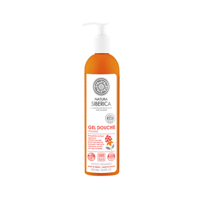 Gel douche vitaminé NATURA SIBERICA, 400ml