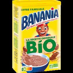 Poudre chocolatée bio BANANIA 750g