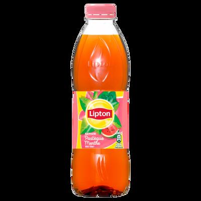 LIPTON Ice Tea pastèque menthe, bouteille en plastique de 1 litre