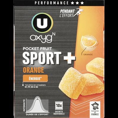 Pocket fruit orange U OXYGN, 100g
