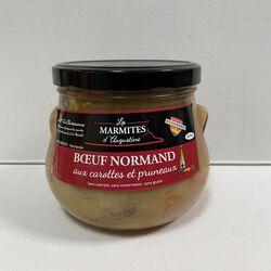 Boeuf normand aux carottes et pruneaux, LA CHAISERONNE, 750g