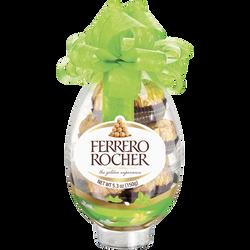 Rocher oeuf chocolat au lait FERRERO, boîte de 16 pièces, 200g