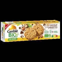 Sablé choco noisettes bio GERBLE, 125g
