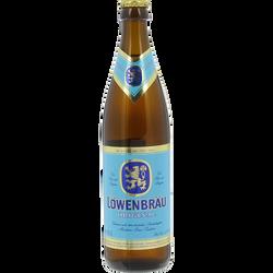 Bière LOWENBRAU original, 5,2°,  bouteille de 50cl