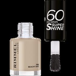 Vernis à ongles 60 seconds super shine colour block 706 beachy bae RIMMEL,  8ml