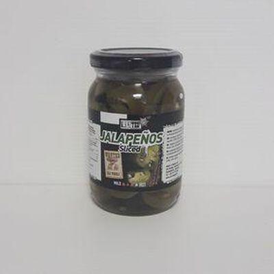 Piment vert en tranches WANTED pot 230g