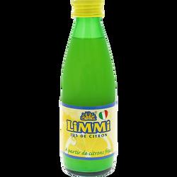 Jus de citron de sicile LIMMI, 250ml