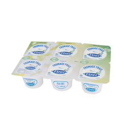 Fromage blanc faisselle, ETREZ,  0%MG, 6x100g