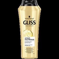 Shampoing à l'huile Précieuse Ultimate GLISS, flacon de 250ml
