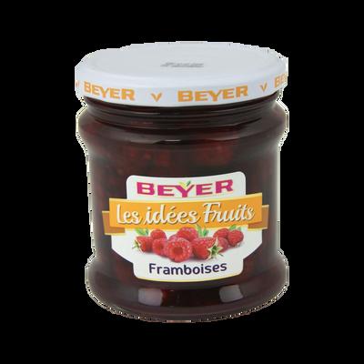 Framboises au sirop BEYER, bocal 320ml, 105g