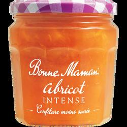 Confiture d'abricot intense BONNE MAMAN, 335g