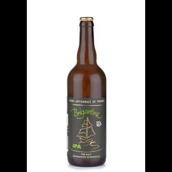 Bière brune Artisanale IPA BRIGANTINE, bouteille de 75cl