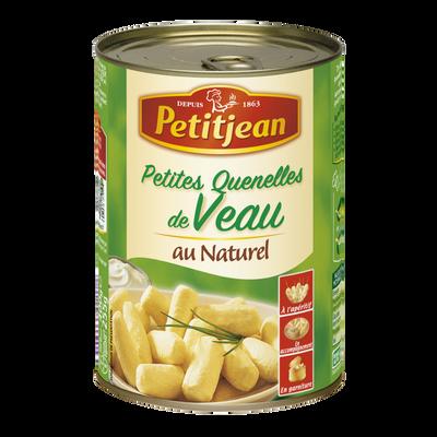 Petites quenelles de veau au naturel PETIT JEAN, boîte de 255g